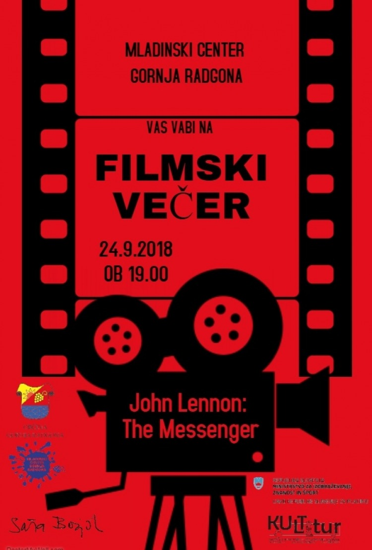 FILMSKI VEČER: JOHN LENNON -  THE MESSENGER