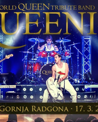 KONCERT: QUEENIE/WORLD QUEEN TRIBUTE BAND